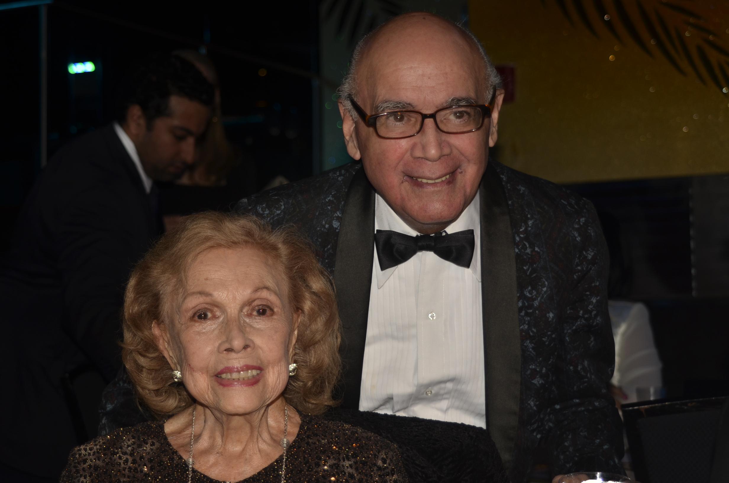 Fernando Campos y Anita Vélez-Mitchell