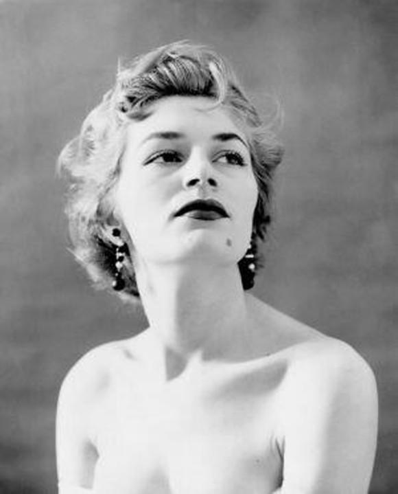 Nidia Rios en una imagen de 1956.